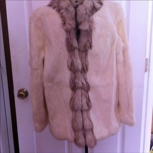 New Rabbit fur coat